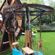 Laufrad betriebenes Karussell für Kinder